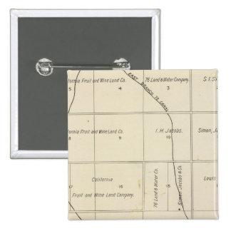 Fresno County California 23 Pinback Buttons