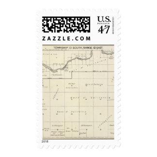 Fresno County, California 25 Postage Stamp