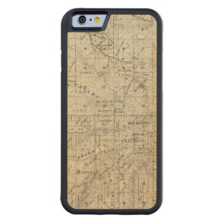 Fresno County, California 26 Carved Maple iPhone 6 Bumper Case