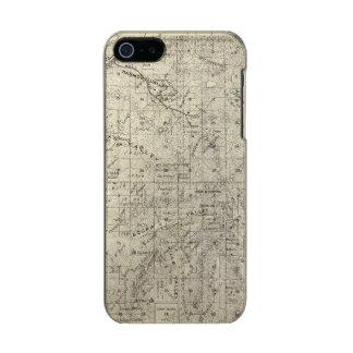 Fresno County, California 26 Metallic Phone Case For iPhone SE/5/5s