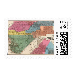 Fresno County, California 31 Postage Stamp