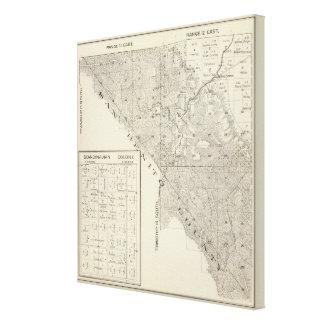 Fresno County, California 3 Canvas Print