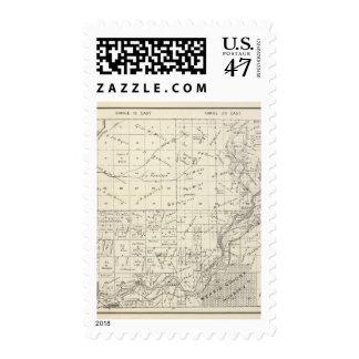 Fresno County, California 3 Stamp