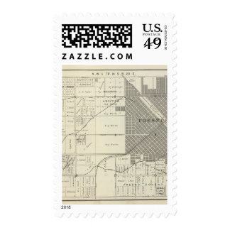 Fresno County, California 7 Stamp