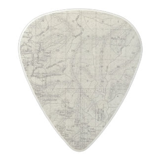 Fresno County, California 9 Acetal Guitar Pick
