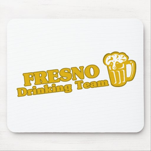 Fresno Drinking Team tee shirts Mousepad