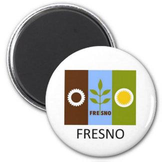 Fresno Flag Magnet