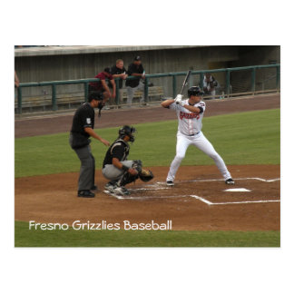 Fresno Grizzlies Baseball Postcard
