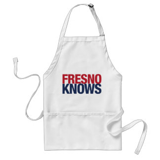 Fresno Knows Adult Apron