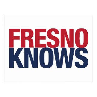 Fresno Knows Postcard