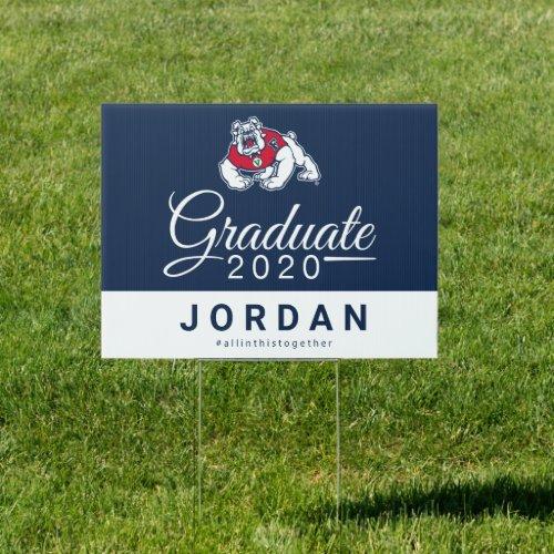Fresno State 2020 Graduate Sign