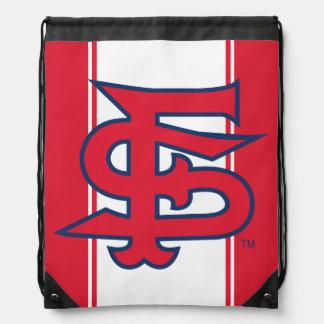 Fresno State Baseball Drawstring Bag