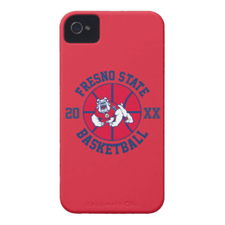 Fresno State Basketball iPhone 4 Case-Mate Case