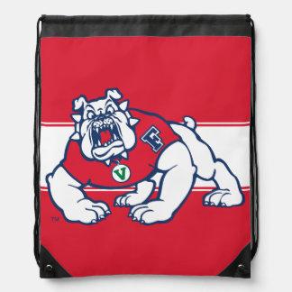 Fresno State Bulldog Drawstring Bag