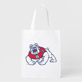 Fresno State Bulldog Grocery Bag