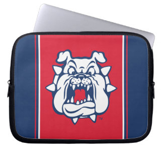 Fresno State Bulldog Head Laptop Sleeve