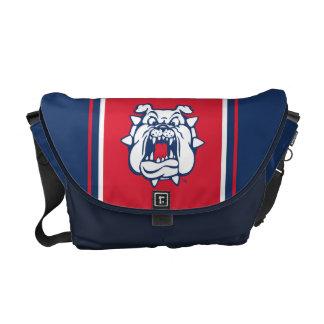 Fresno State Bulldog Head Messenger Bag