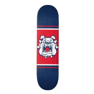 Fresno State Bulldog Head Skateboard