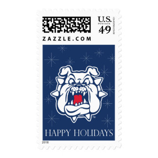 Fresno State Bulldog Head Stamps