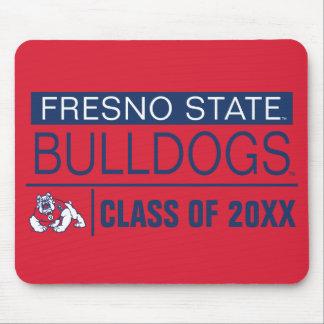 Fresno State Bulldogs Alumni Mouse Pad