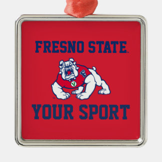 Fresno State Customize Your Sport Metal Ornament