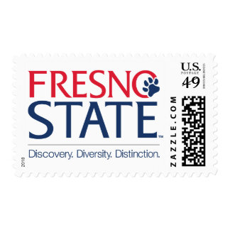 Fresno State Discovery Diversity Distinction Postage Stamps