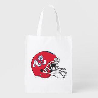 Fresno State Helmet Grocery Bags