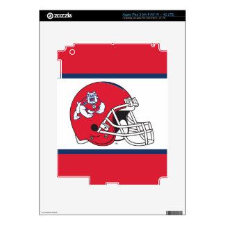 Fresno State Helmet iPad 3 Decal