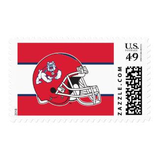 Fresno State Helmet Mark Postage Stamps