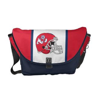 Fresno State Helmet Messenger Bag