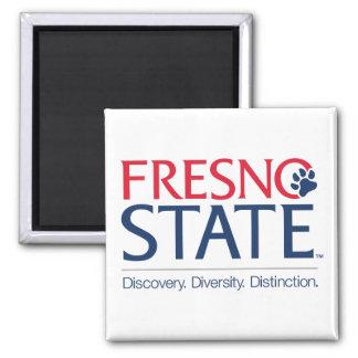 Fresno State Institutional Mark Refrigerator Magnet