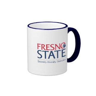 Fresno State Institutional Mark Ringer Coffee Mug