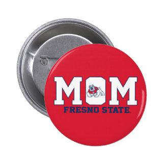 Fresno State Mom Pinback Button