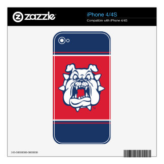 Fresno State Secondary Mark Skin For iPhone 4S