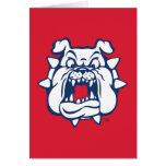 Fresno State Secondary Mark Stationery Note Card