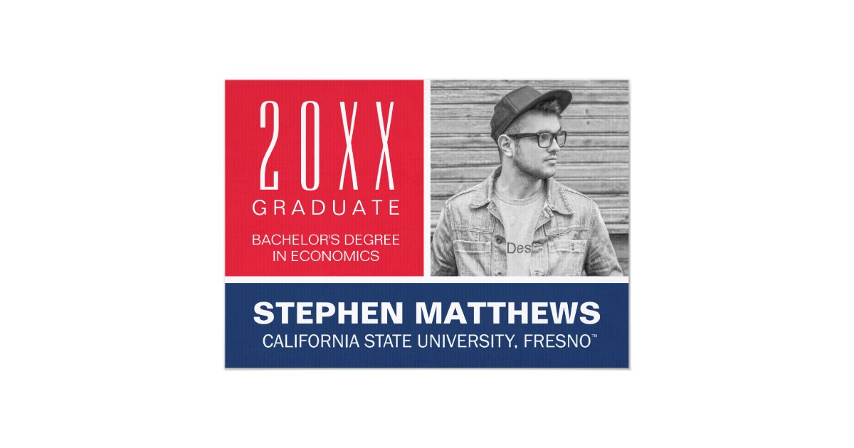 Wedding Invitations Fresno Ca: Fresno State University Graduation Announcement
