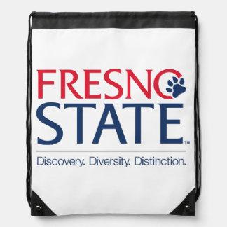 Fresno State University Slogan Drawstring Bag