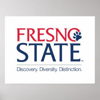Fresno State University Slogan Poster