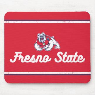 Fresno State | Vintage Script Logo Mouse Pad
