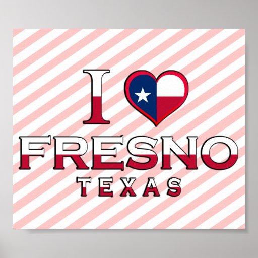 Fresno, Tejas Póster
