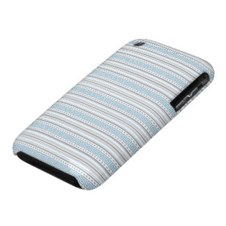 Fret Stripe Cornflower iPhone 3/3GS Barely There iPhone 3 Case