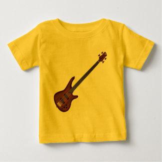 Fretless 4 String Bass Guitar Baby T-Shirt