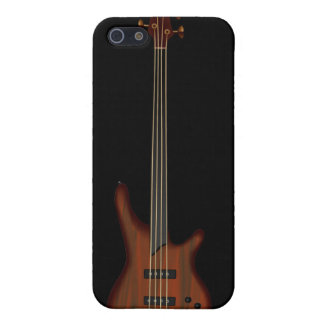 Fretless 4 String Bass Guitar iPhone SE/5/5s Cover