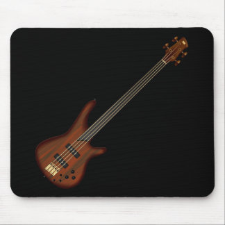Fretless 4 String Bass Guitar Mouse Pad