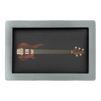 Fretless 5 String Bass Guitar Belt Buckle