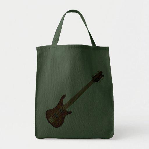 Fretless 5 String Bass Guitar Canvas Bag
