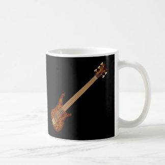 Fretless 5 String Bass Guitar Coffee Mug