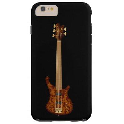 Fretless 5 String Bass Guitar Tough iPhone 6 Plus Case