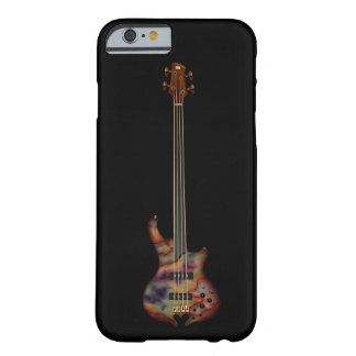 Fretless Bass Guitar (rainbow) Barely There iPhone 6 Case