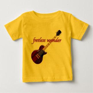 Fretless Wonder Mahogany Guitar Baby T-Shirt